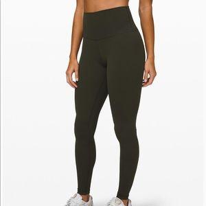 """NWT Lululemon Align Pant 28"""" Dark Olive Size 6"""